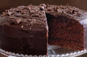 American Date Fudge Cake