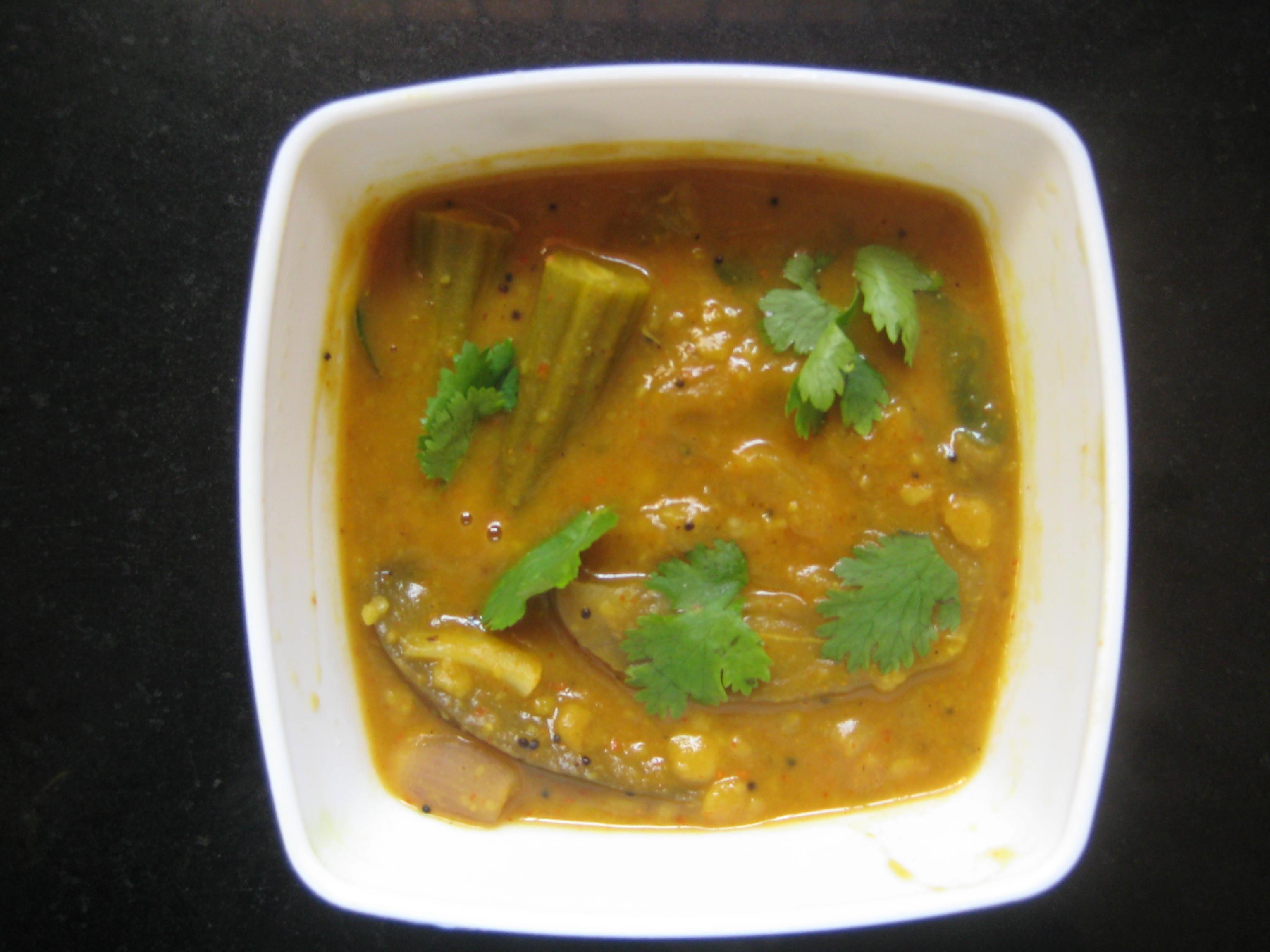 brinjal sambar_51