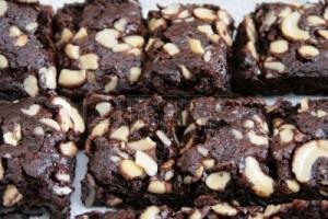 cashew nut chocolate fudge_20