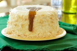 Coconut Caramel Pudding