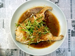Fried Fish with Soy Sauce- yummyrecipes.oneshot.in