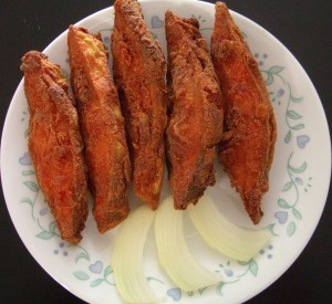 Fried Fish in basen batter