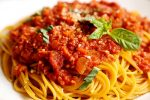 Noodles Bolognese | Step by step recipe of Noodles in Bolognese sauce