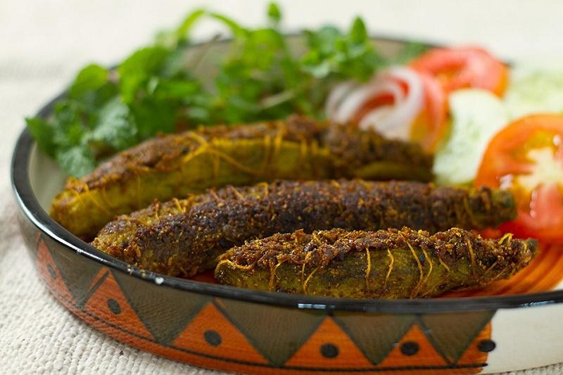 bharwa karela