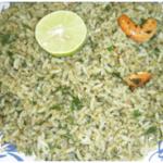 Karivepaku Kobbari Rice