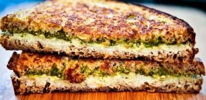 English Mushroom Cheese grilled Sandwich