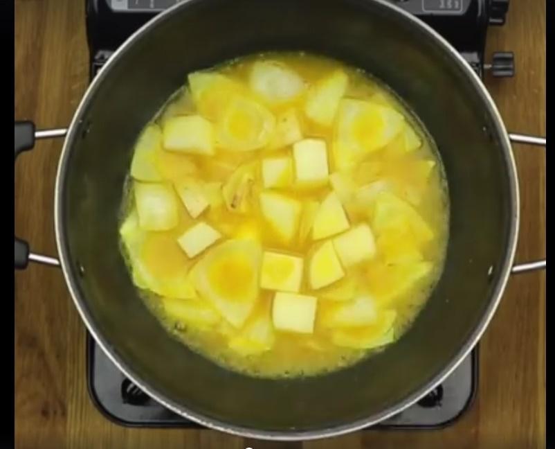 Easy Sambar - Boil for 10 minutes