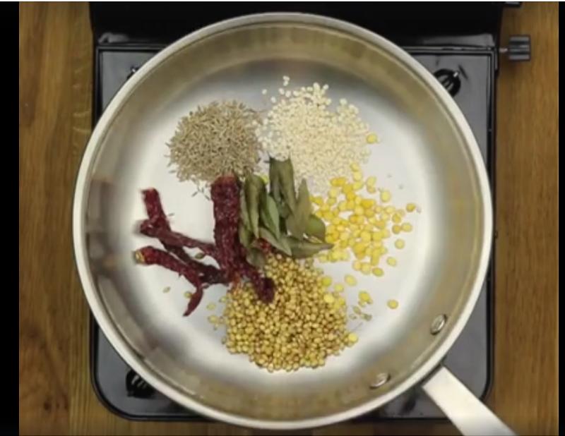 Easy Sambar - Ingredients