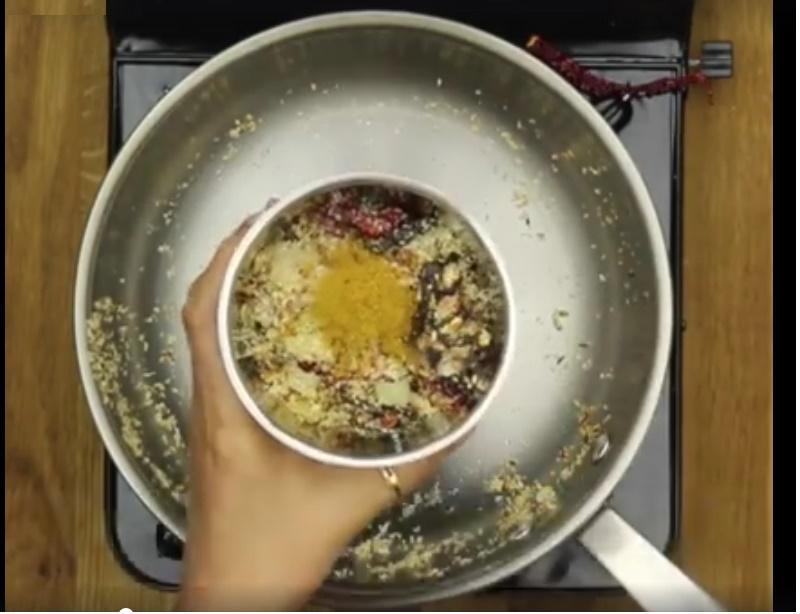 Easy Sambar - Make a fine paste