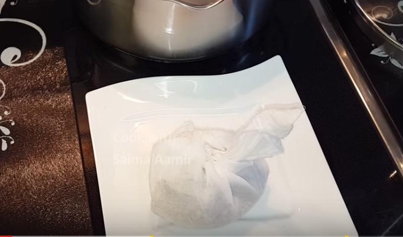 potli for yakni pulav