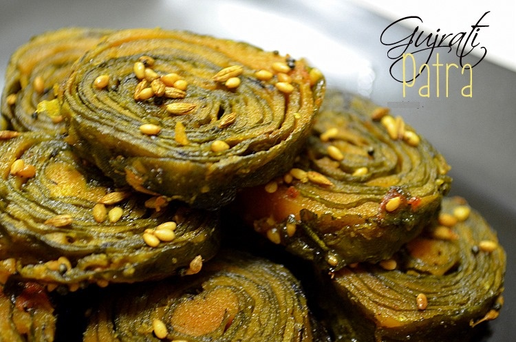 Palak patra or Spinach leaves