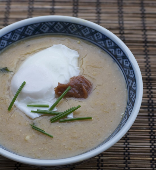 Congee With Miso Sauce