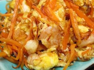 Carrots and Eggs Scramble
