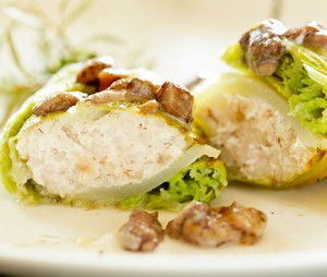 cabbage roll with meat filling