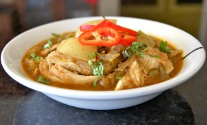 chicken stew brown