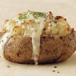 Jack Potato or Cheesy Jacket Potatoes