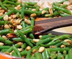 Green Beans Stir Fried