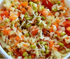 Sprouted Salad