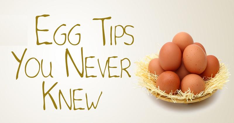 Egg : Kitchen tips and tricks