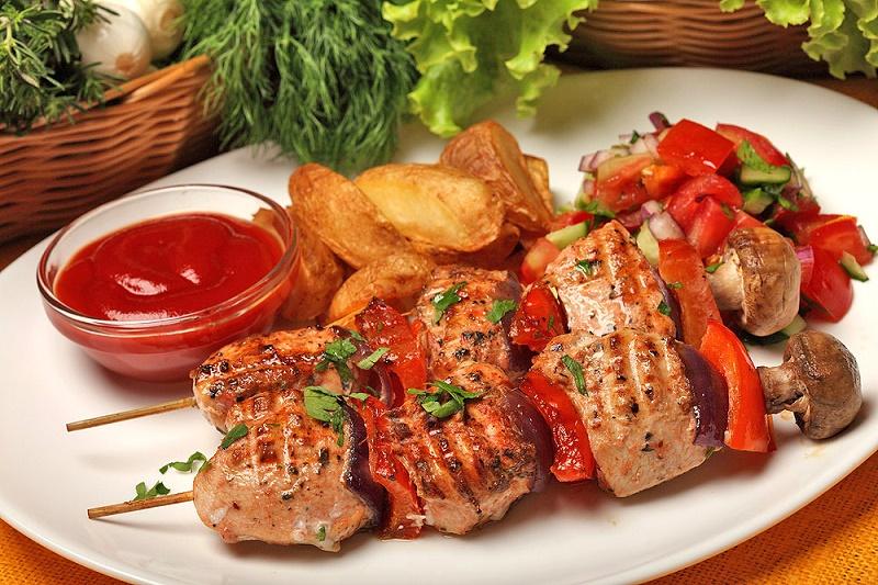 chicken shashlik