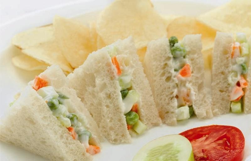 Russian Salad Sandwich