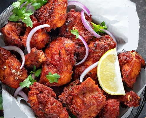 Nadan Thattukada Chicken Fry - Yummy Recipes